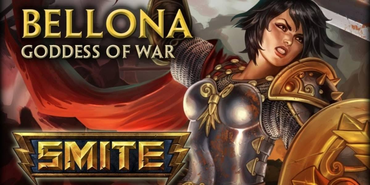 Concurso: Hoy regalamos códigos para Bellona, la nueva diosa de Smite [Cerrado]