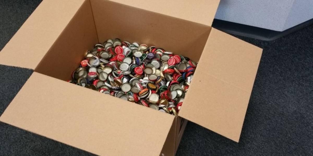 Jugador envía más de 2000 tapas de botella a Bethesda para reservar Fallout 4
