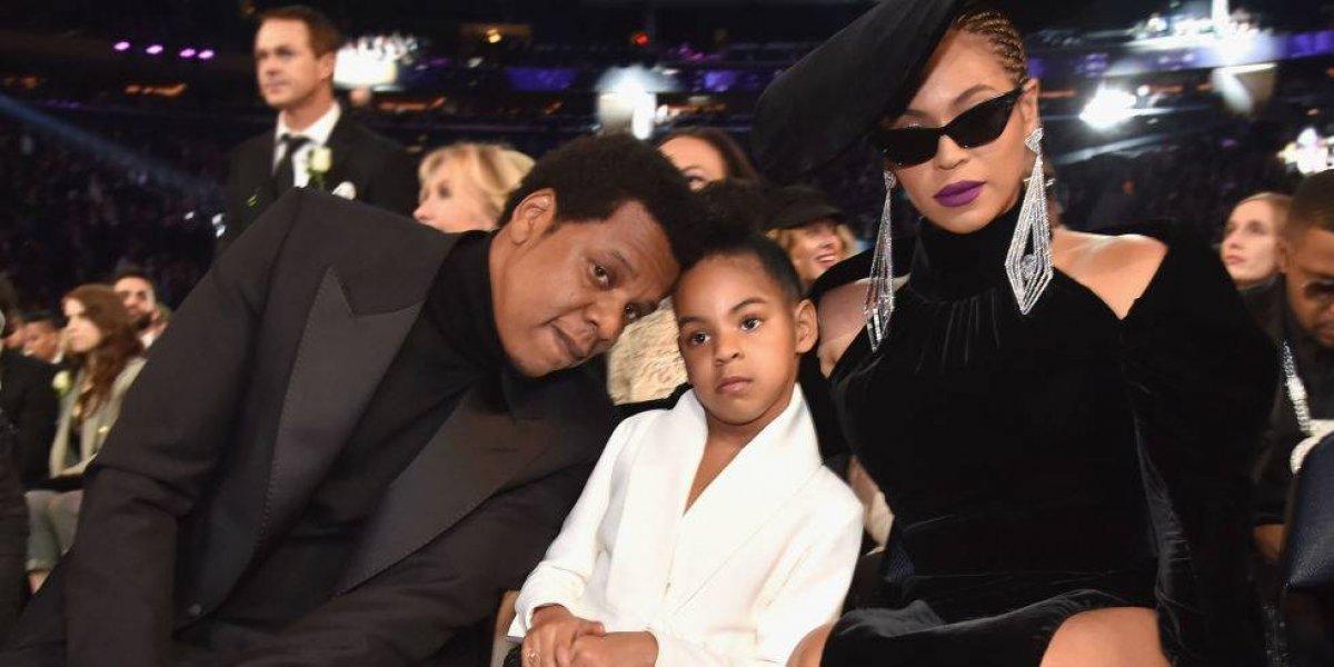Blue Ivy manda a callar a Beyoncé y Jay-Z en plenos Grammy