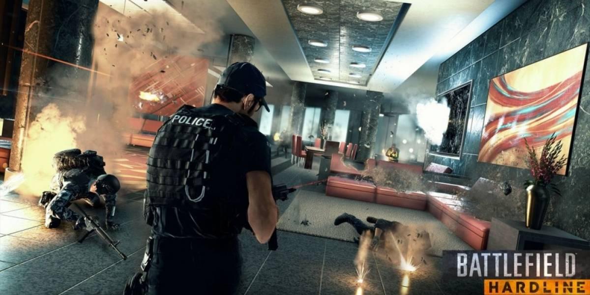 Primer vistazo a la campaña de Battlefield Hardline #gamescom 2014