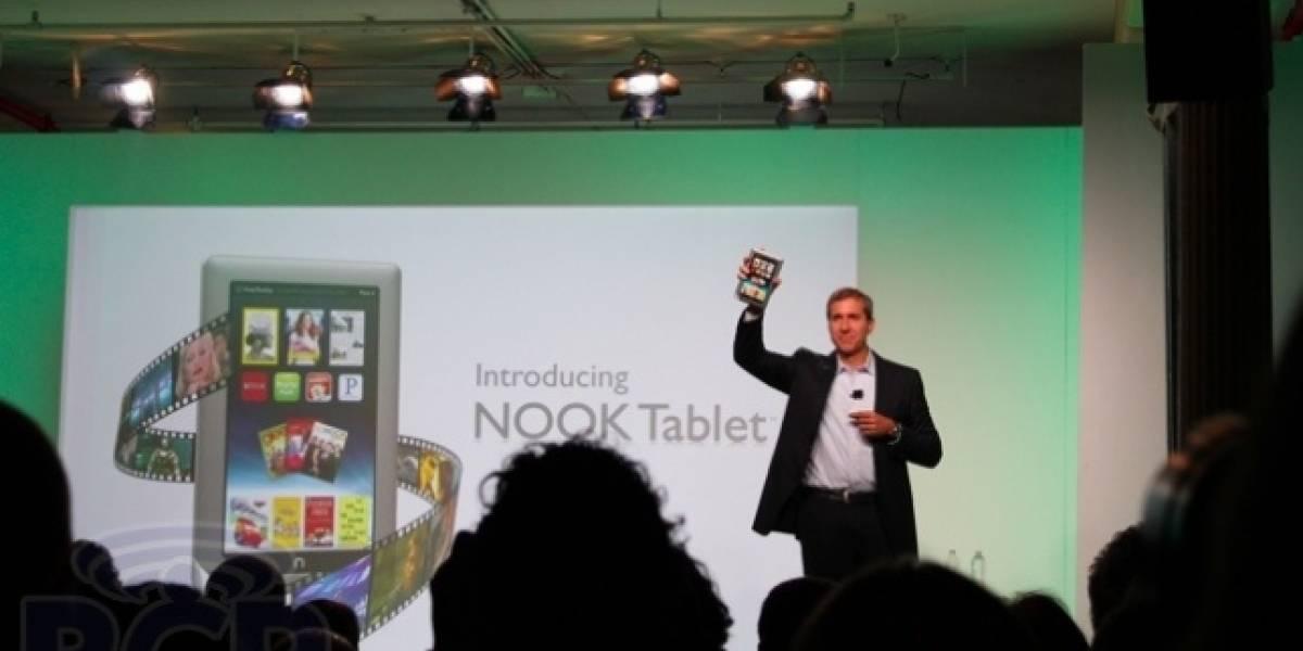 Barnes & Noble anuncia oficialmente el Nook Tablet