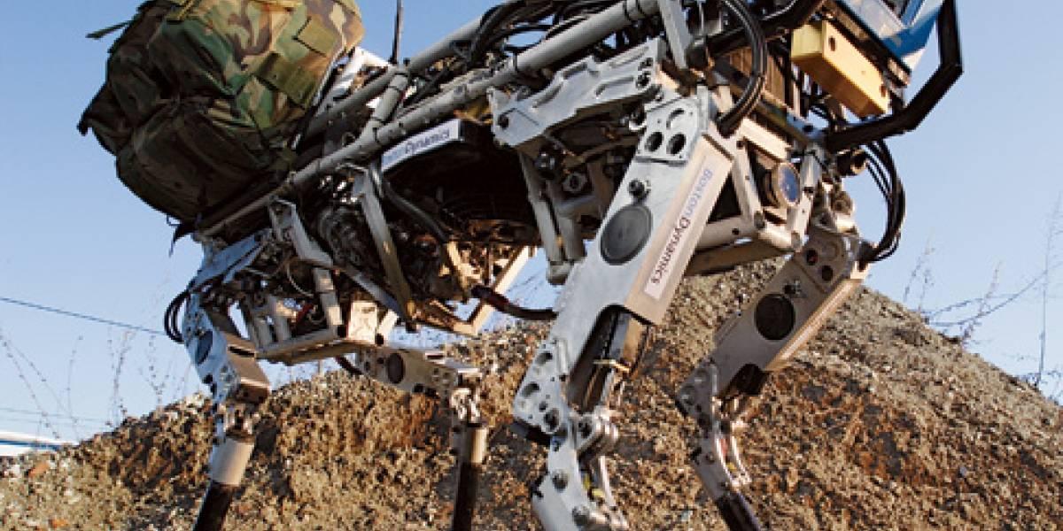 Imperdible: BigDog, el robot cuadrúpedo más avanzado del mundo