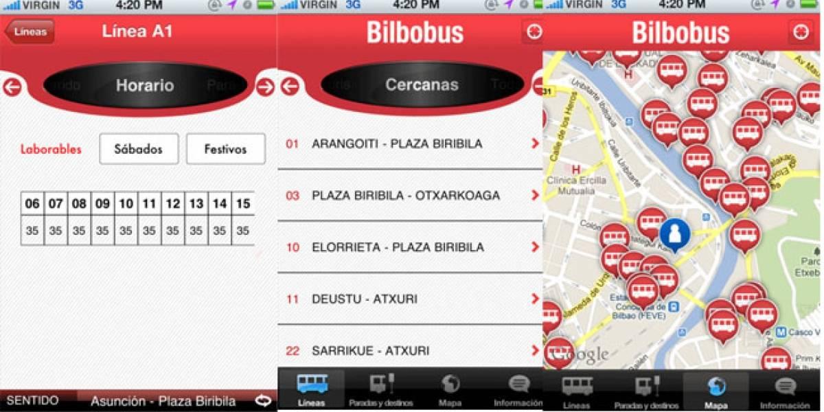 iBilbobus: Todo sobre los autobuses públicos de Bilbao en tu iPhone