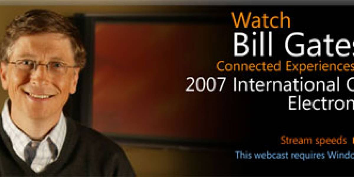 CES: Keynote de Bill Gates, Windows Home Server