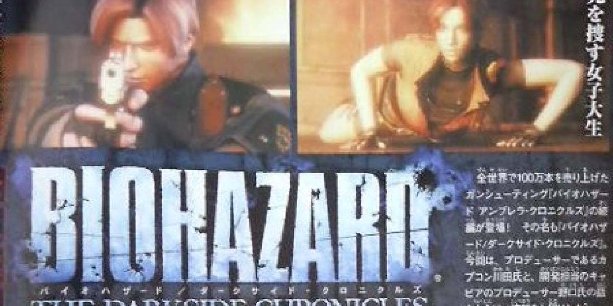 Capcom anuncia Biohazard: The Darkside Chronicles para la Wii