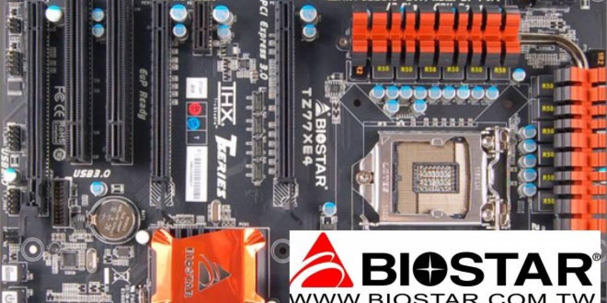 Biostar anuncia su nueva línea de tarjetas madre Puro Hi-Fi