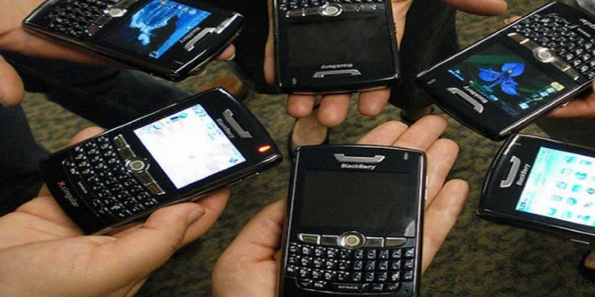Policía holandesa logra vulnerar seguridad de mensajería Blackberry