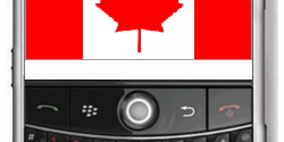 Canadá: BlackBerry primero, Android tercero