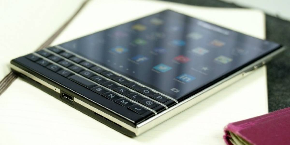 Aparece video de un BlackBerry Passport corriendo Android Lollipop
