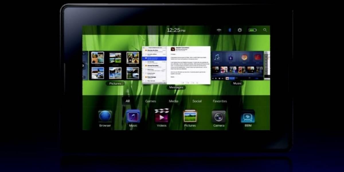 Futurología: La BlackBerry PlayBook 2 tendría una pantalla de 10 pulgadas