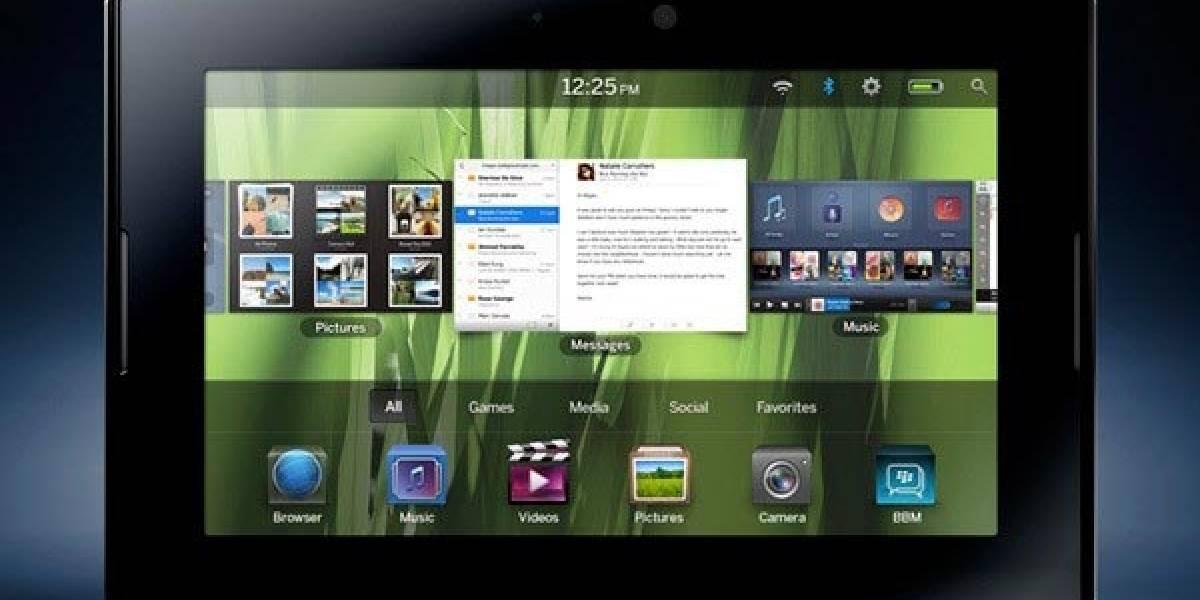 RIM empieza a aceptar aplicaciones para el tablet PlayBook
