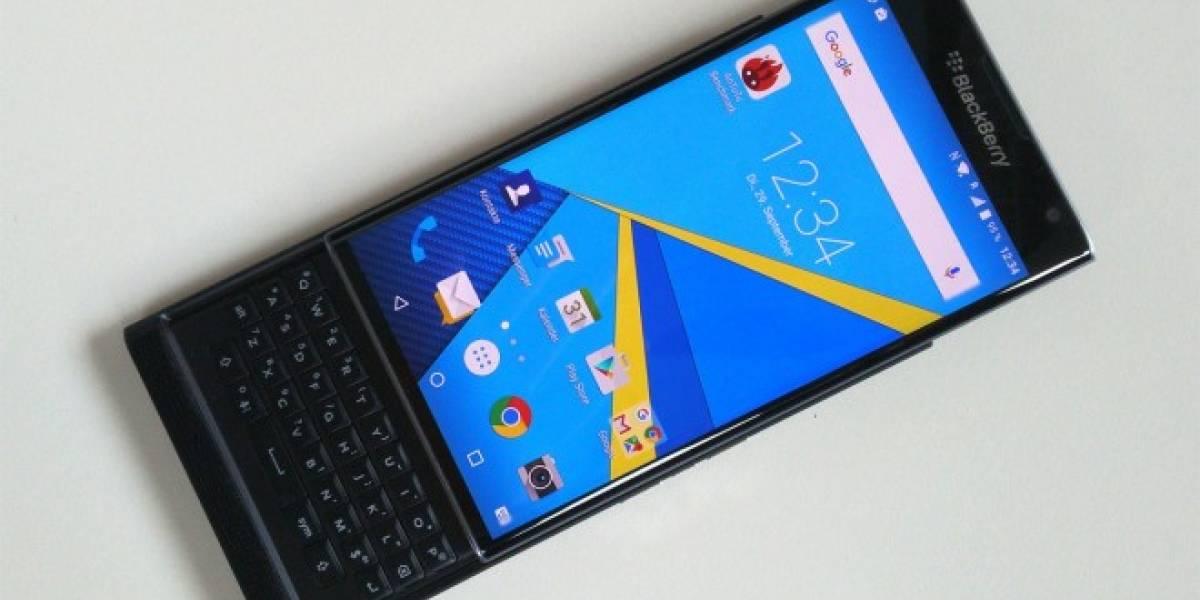 Surgen más detalles e imágenes del BlackBerry Priv