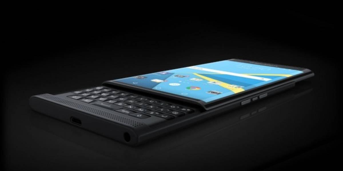 El BlackBerry Priv es más delgado que el Galaxy Note 5