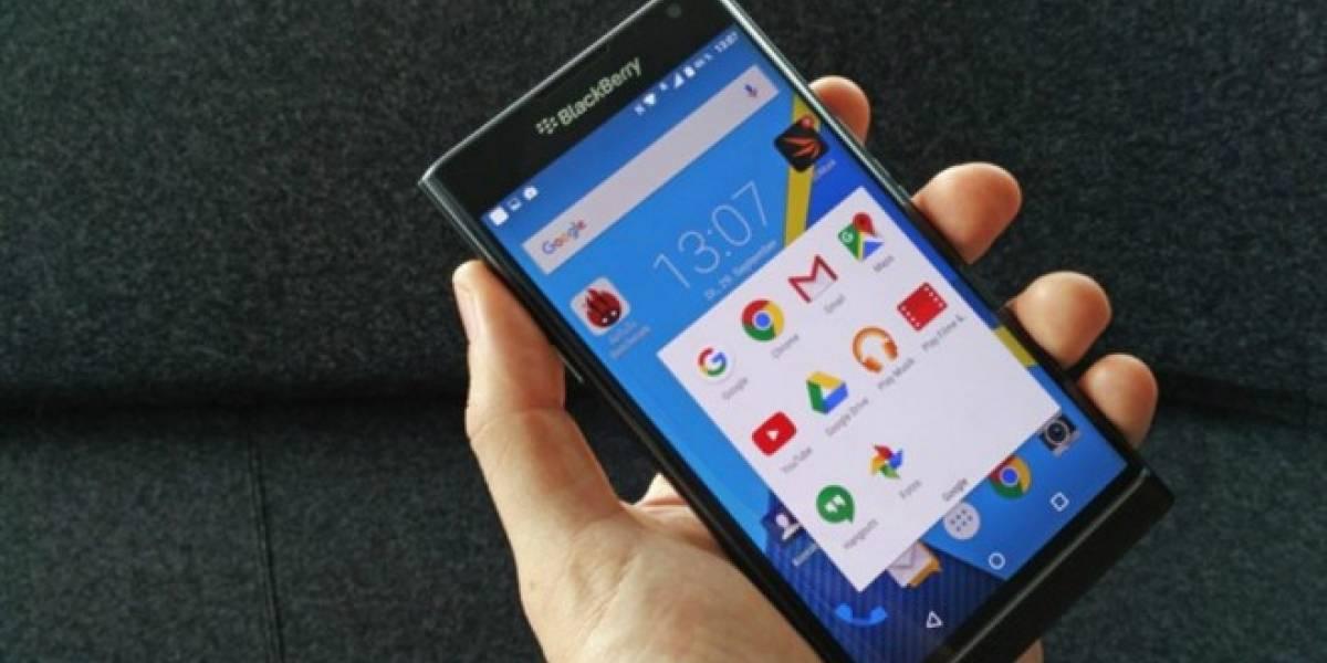 BlackBerry Priv se actualizará a Marshmallow el primer trimestre de 2016