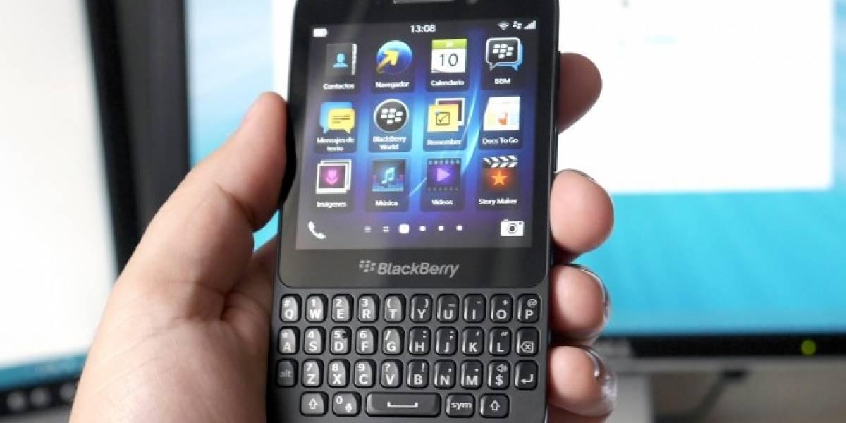 BlackBerry deja temporalmente de compartir su plataforma de mensajes con sus competidores