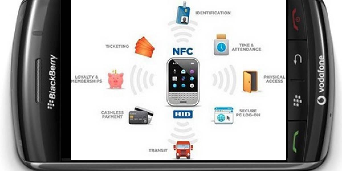 RIM confirma que se viene NFC a BlackBerry