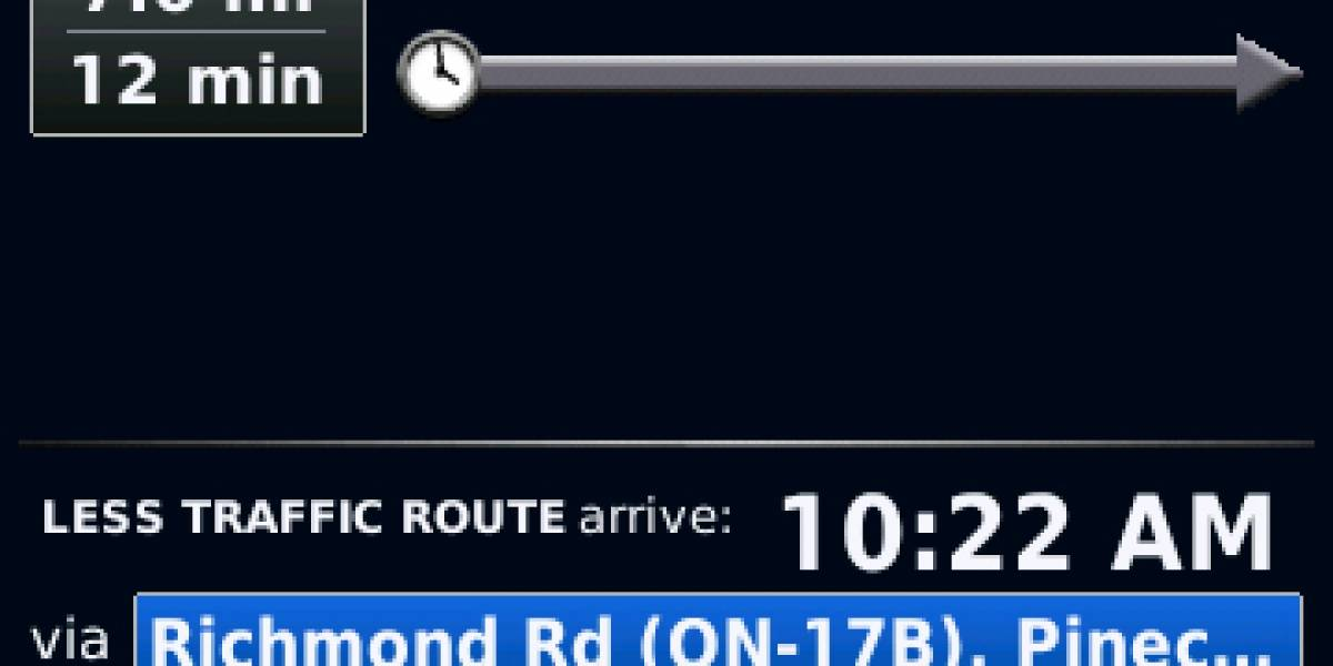 BlackBerry Traffic ya está en el App World