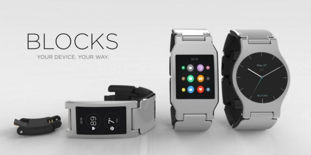 Blocks, el smartwatch modular que busca financiamiento en Kickstarter