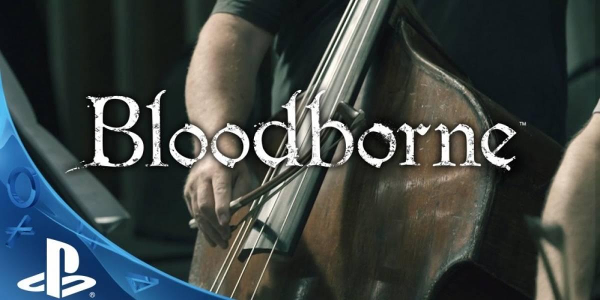Vean cómo se grabó la música de Bloodborne