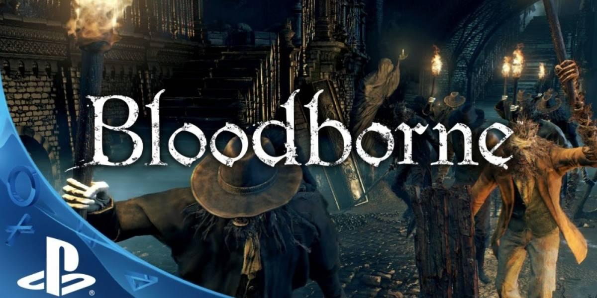 Vean 6 minutos de Bloodborne en acción