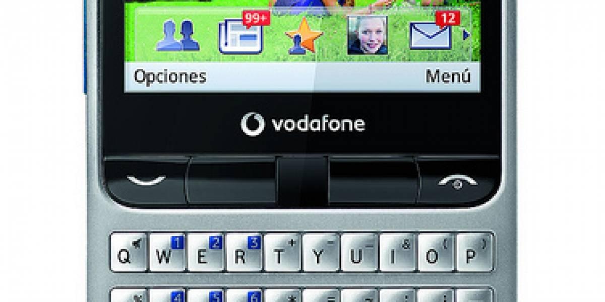 España: Vodafone ya comercializa su 'Facebook-Phone' lowcost
