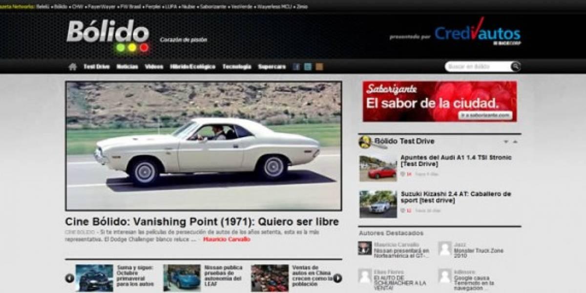 Bólido: Los amantes de los automóviles llegan a Betazeta