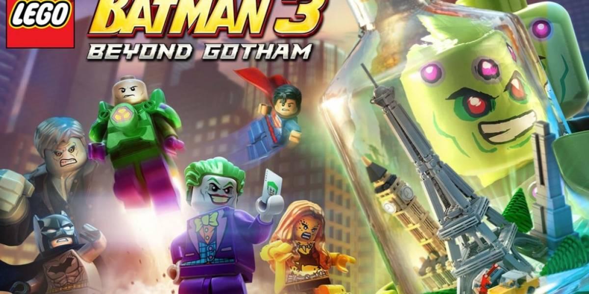 Brainiac se une al elenco de Lego Batman 3: Beyond Gotham