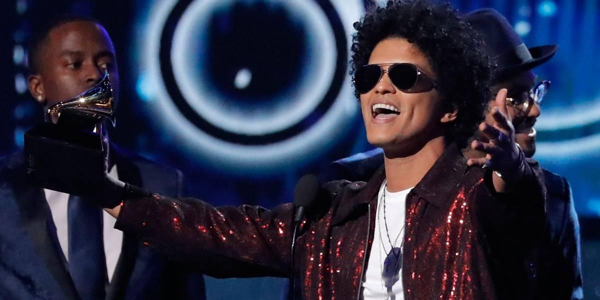 Grammy 2018: Bruno Mars é o grande vencedor, com 6 troféus; veja lista
