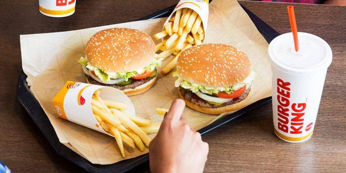 No te quedes con las ganas de probar los nuevos menús de Burger King