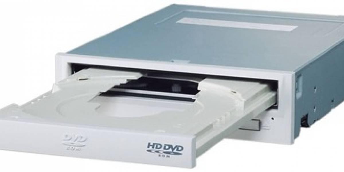 Anuncian el primer lector interno HD DVD para PC