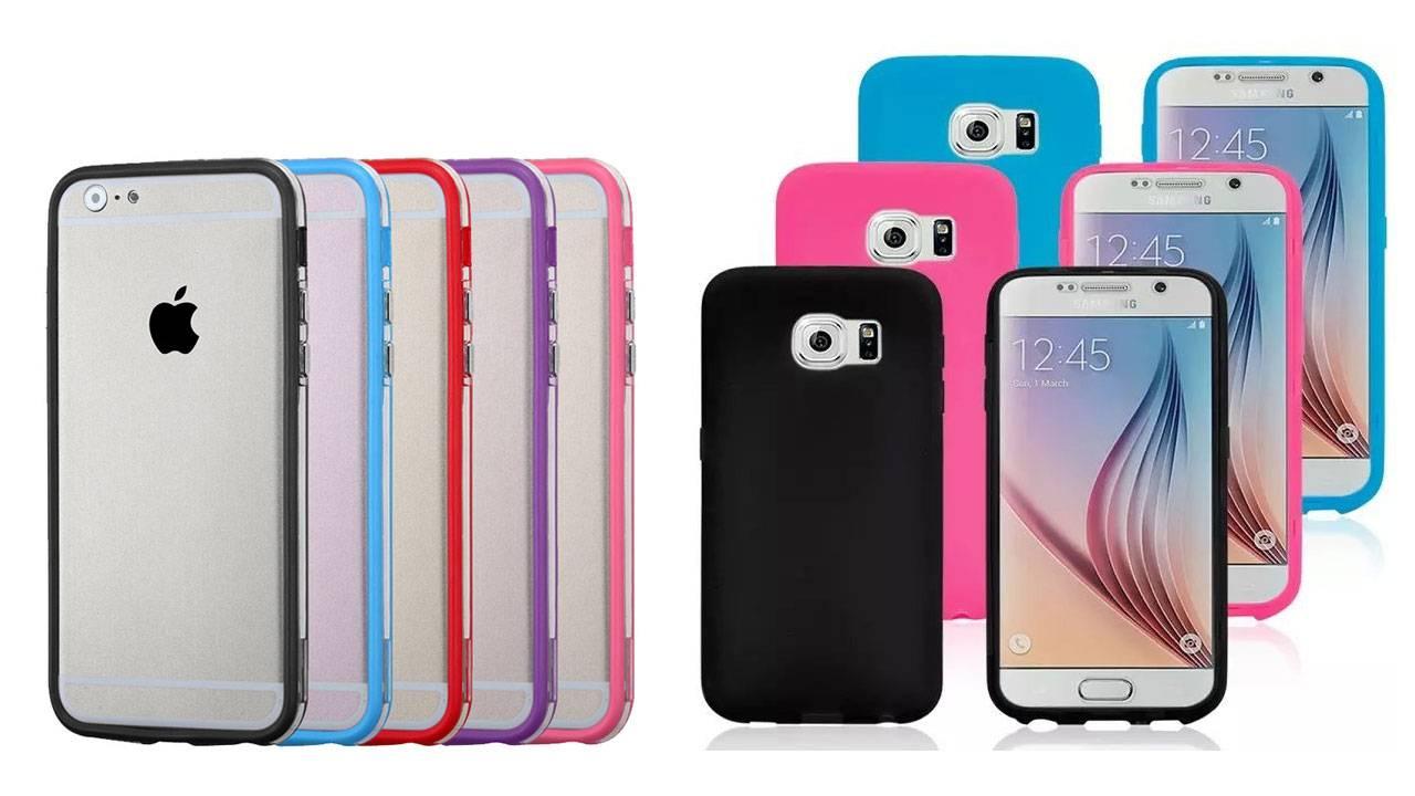 Qu tipo de funda o carcasa debes comprar para tu celular for Protectores 3d para celular