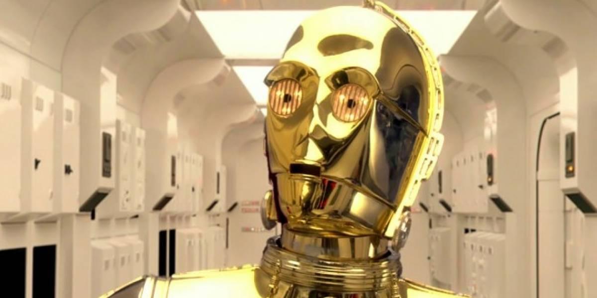 C-3PO será tu guía en Waze