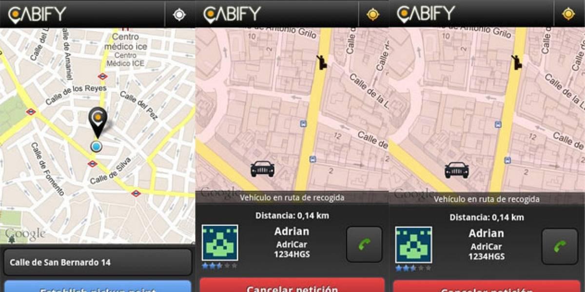 Cabify: Pide taxis de lujo en Madrid desde tu Android o iOS