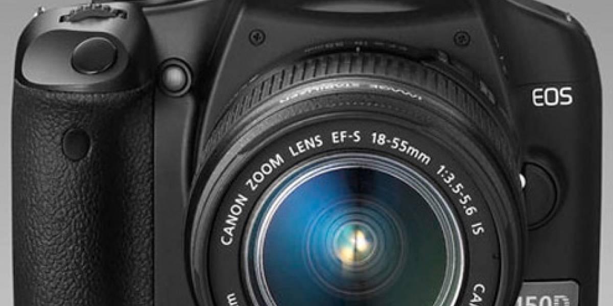 Canon presenta la EOS Rebel XSi 450D