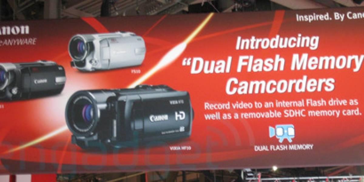 Futurología: Cámaras Canon con SSD en la CES 2008