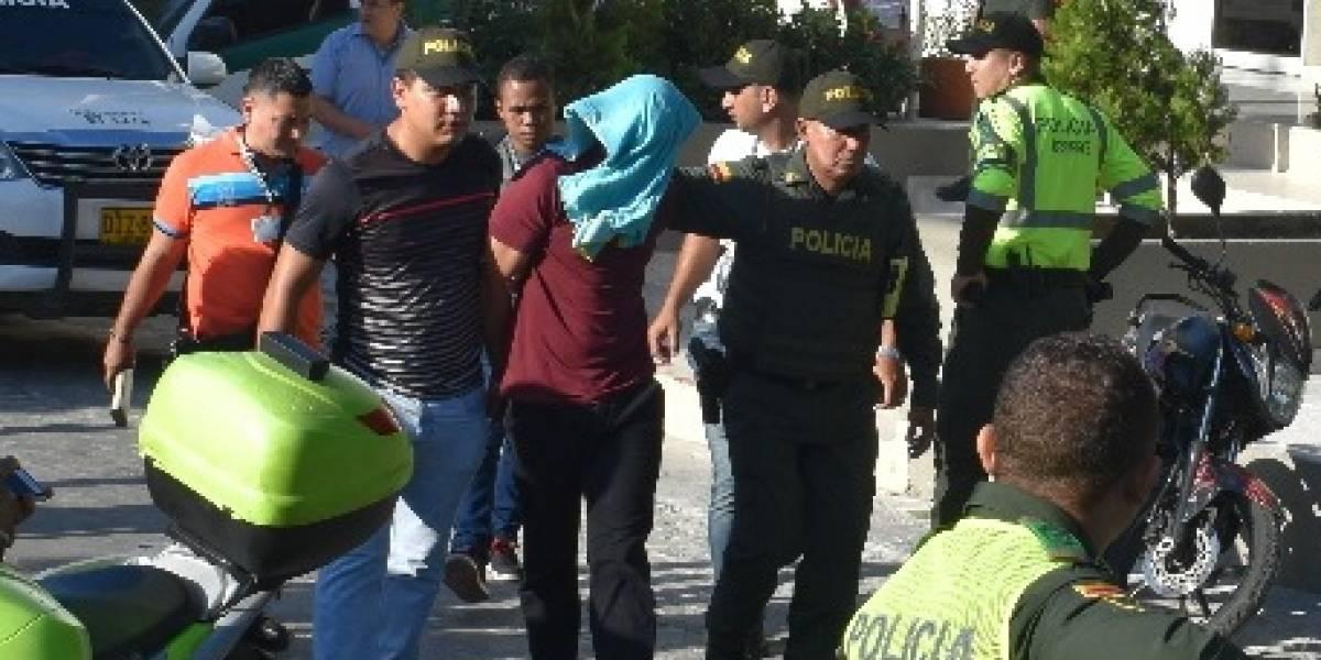 Así capturaron al sospechoso bogotano señalado por los atentados en Barranquilla