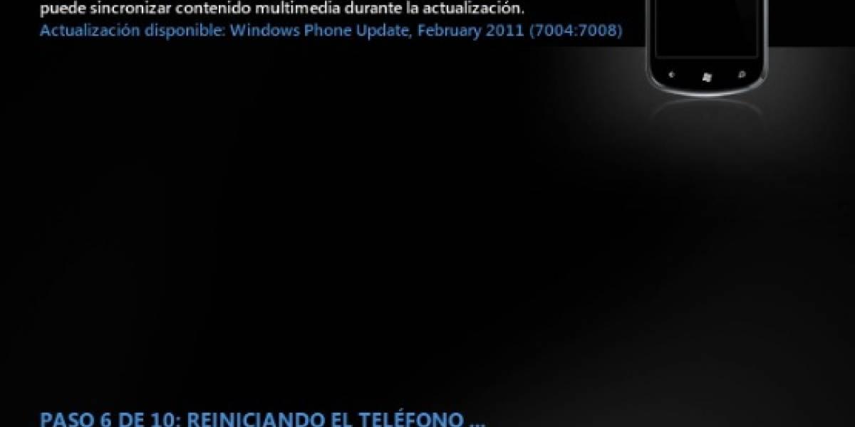 Microsoft reporta fallos al actualizar Windows en el Omnia 7