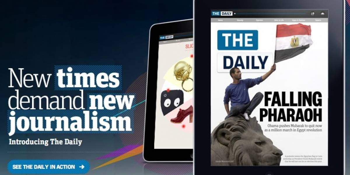 Futurología: The Daily arribaría a Android en los próximos 3 meses