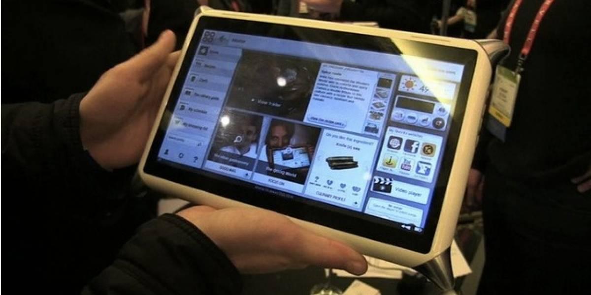 CES 2012: Qooq, la tableta del Chef