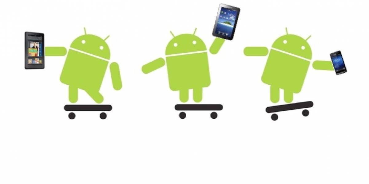 Android pierde mercado en smartphones y gana en tabletas