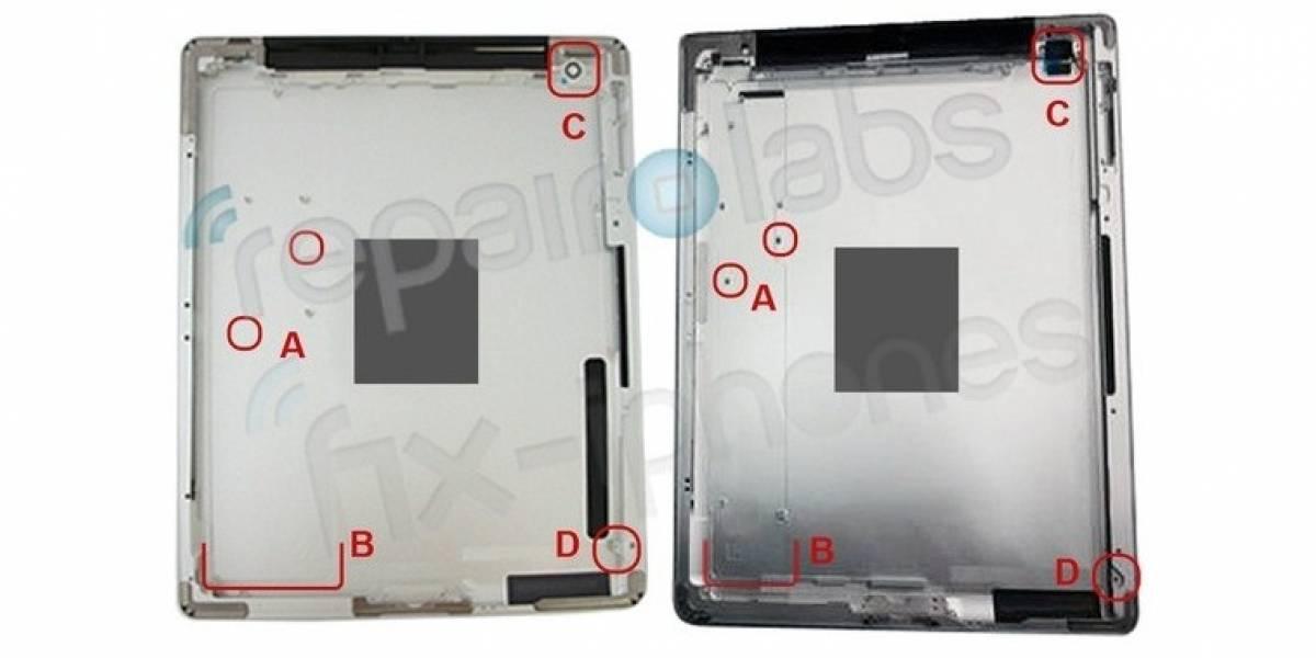 Presunta carcasa de iPad 3 deja intuir más potencia y mayor grosor