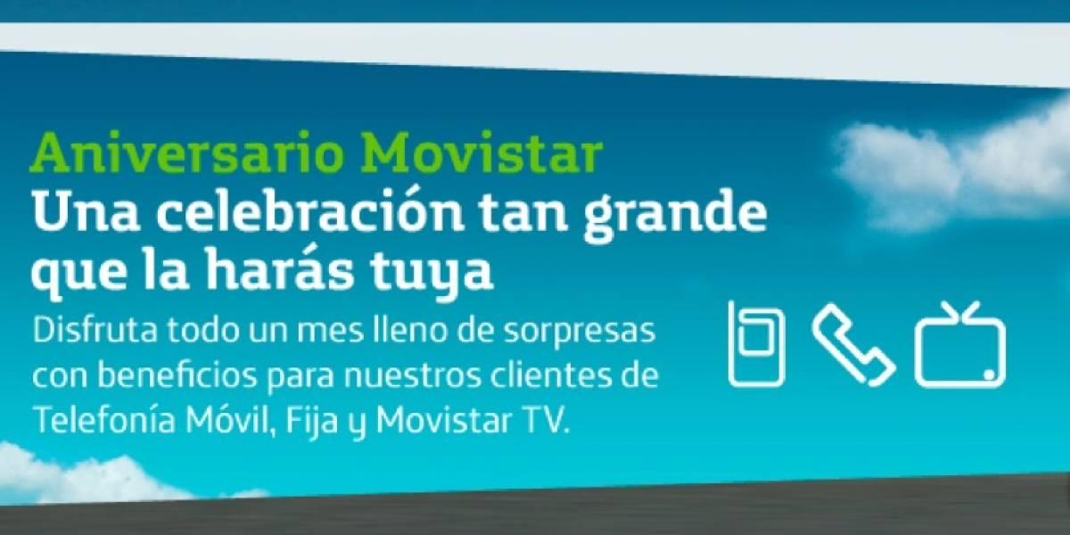 Venezuela: Movistar cumple 7 años entre regalos para sus usuarios