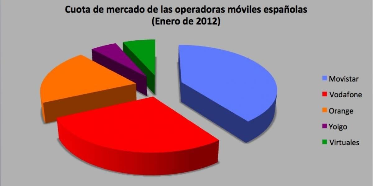 España: 540 mil usuarios móviles cambiaron de operadora en enero