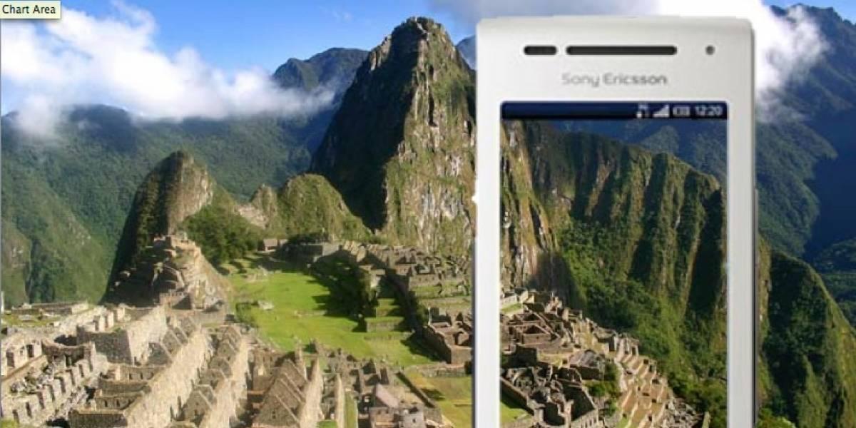 Perú: Sony Ericsson y Movistar lanzan app de turismo interno