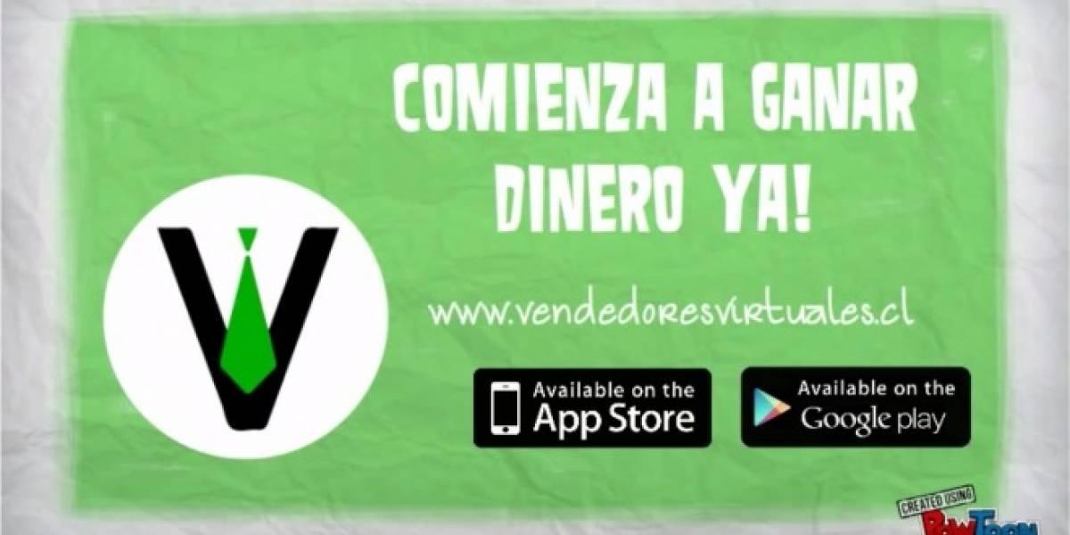 Ayuda a tus conocidos a comprar algo y gana dinero con la aplicación Vendedores Virtuales
