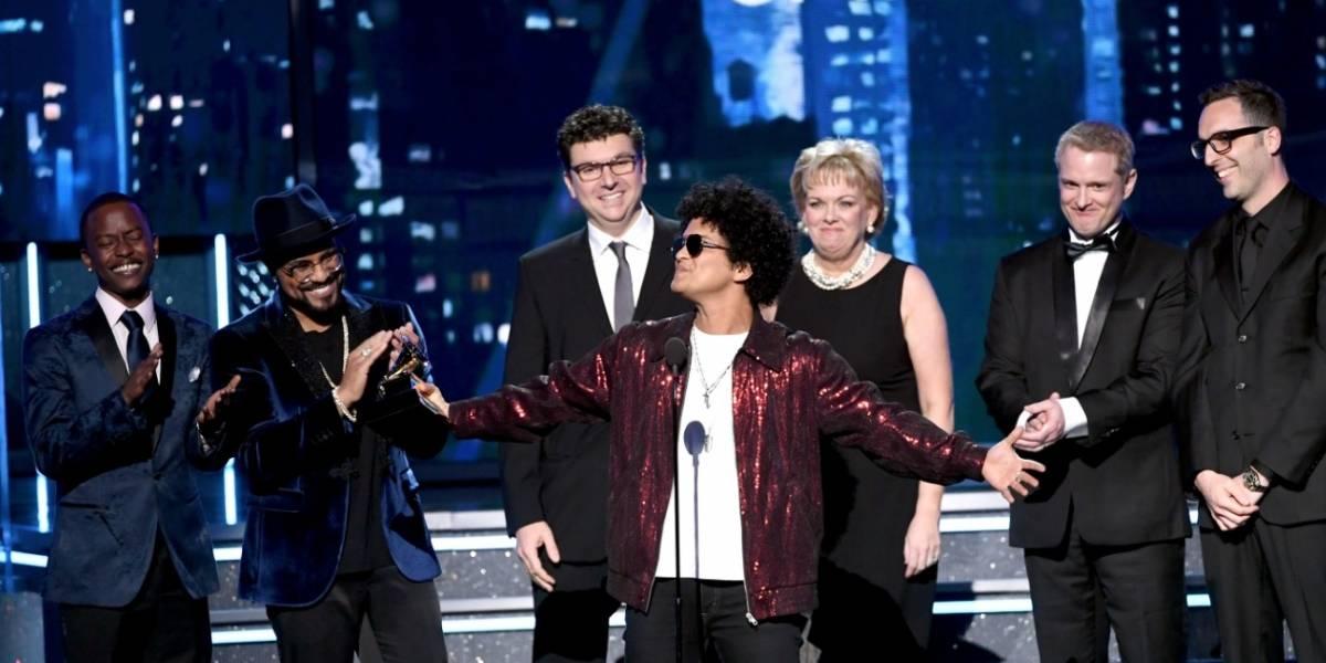 Bruno Mars: el rey de la edición 60 de los Grammy