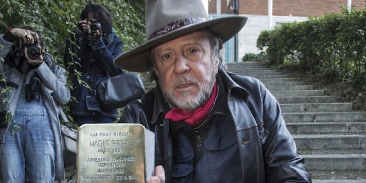 Gunter Demnig, el artista alemán que rinde tributo a las víctimas del holocausto