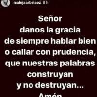 Mensaje Alejandra Arbeláez