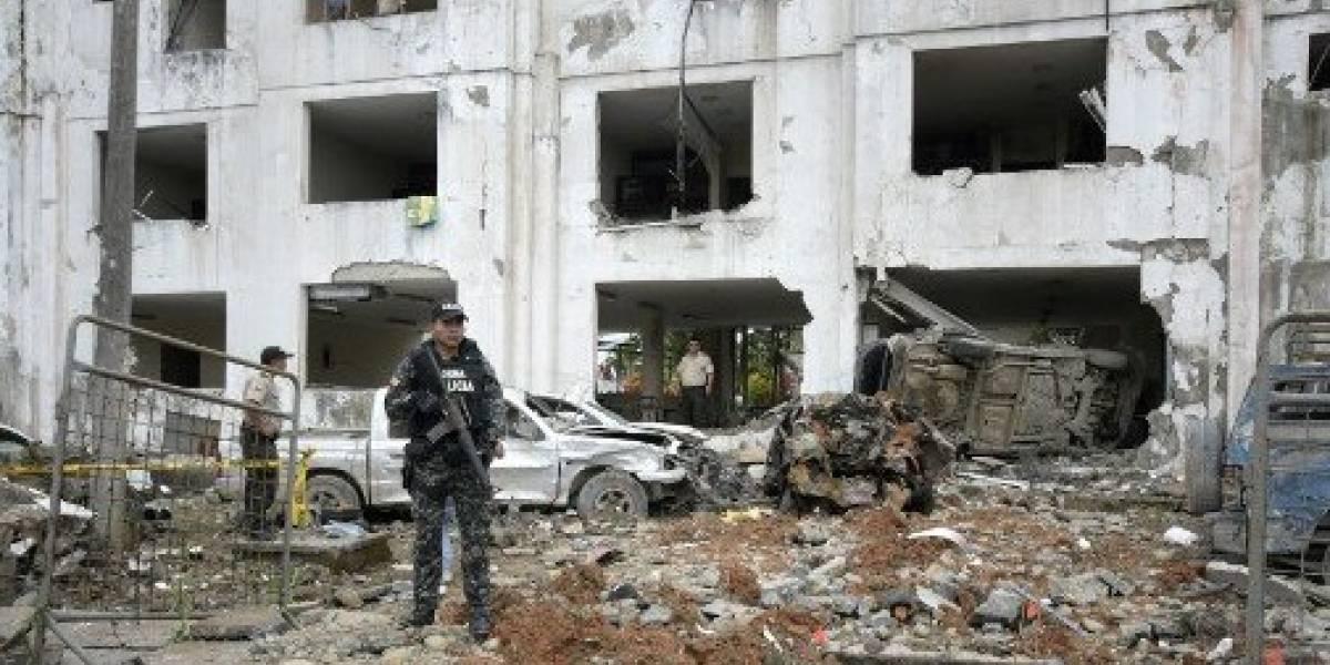 Policía custodia Fiscalía de San Lorenzo tras amenaza de bomba