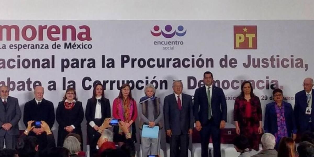 Presenta AMLO ternas para fiscalías General, Electoral y Anticorrupción